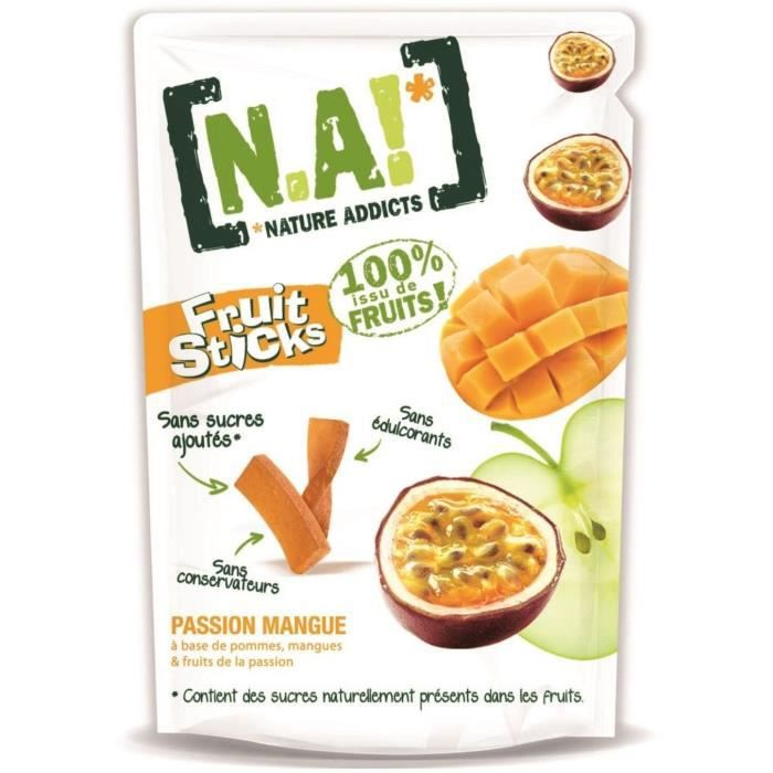 N.A Fruit Sticks Doypack de Passion - Mangue - 40 g