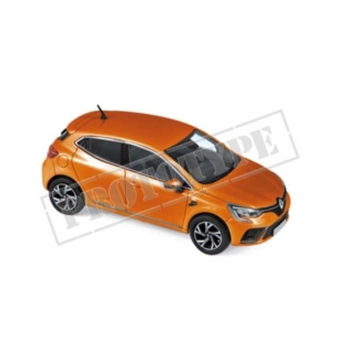 Véhicule Miniature assemble - Renault Clio RS Line - Orange 2019 1/43 Norev