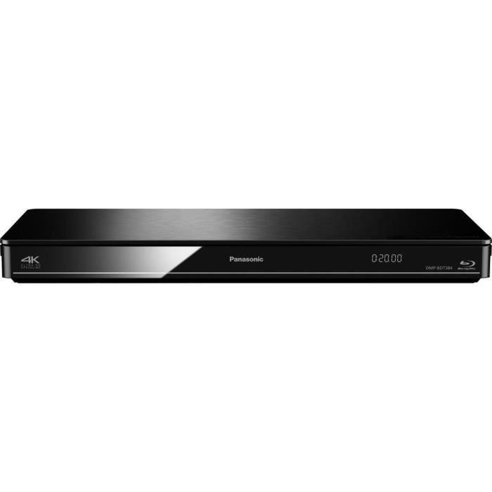 lecteur Blu-ray 3D Panasonic DMP-BDT384 Wi-Fi noir