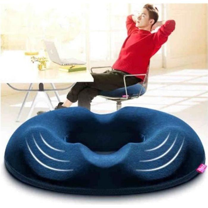 Coussin Orthopédique Coccyx Coussin de Siège - Chaise par Ergonomique Design Pour Réduire Douleurs au Coccyx