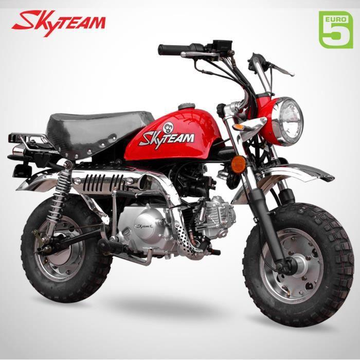 Mini Moto - MONKEY 50 - Rouge - SKYTEAM