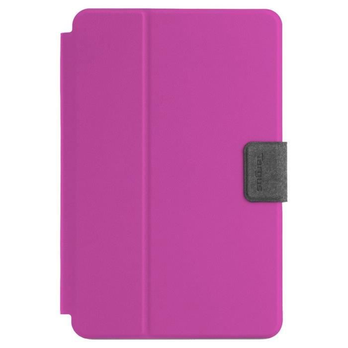 TARGUS Etui universel Rotatif SafeFit pour tablette 7-8- - Rose
