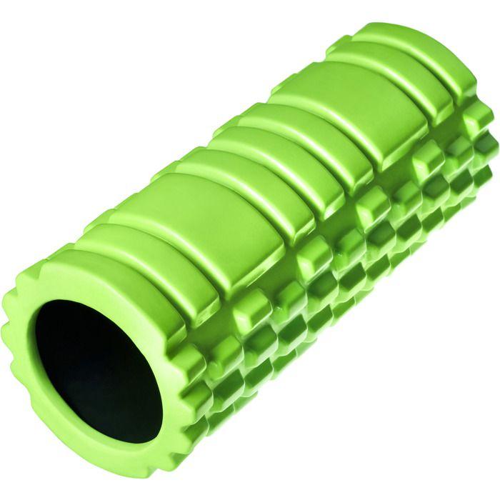 TECTAKE Rouleau de Massage Foam Roller Fitness Sport en Mousse EVA Vert