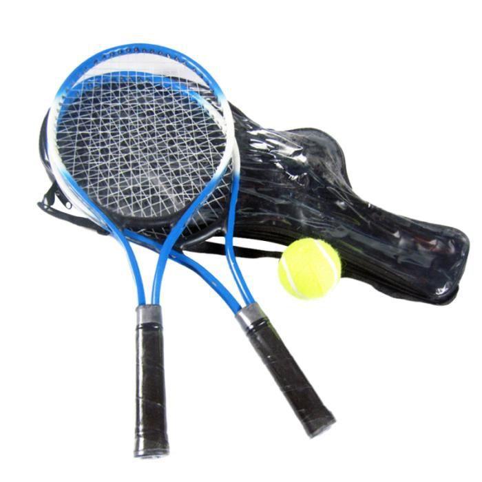 1 jeu de raquette de tennis portable intéressant jouet d'exercice créatif pour enfants RAQUETTE DE TENNIS - CADRE DE TENNIS