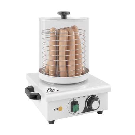 Appareil à hot-dog Acier inoxydable 450 W