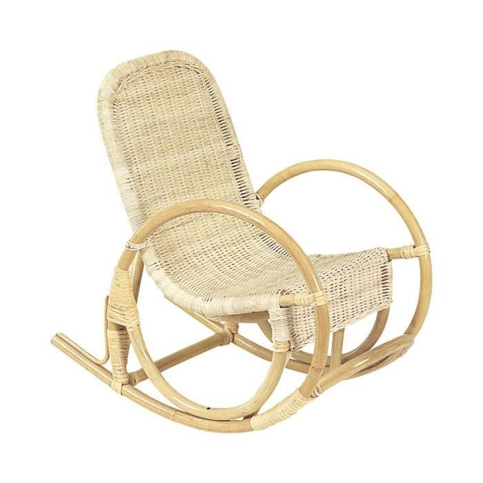 rocking chair enfant en rotin achat vente fauteuil. Black Bedroom Furniture Sets. Home Design Ideas