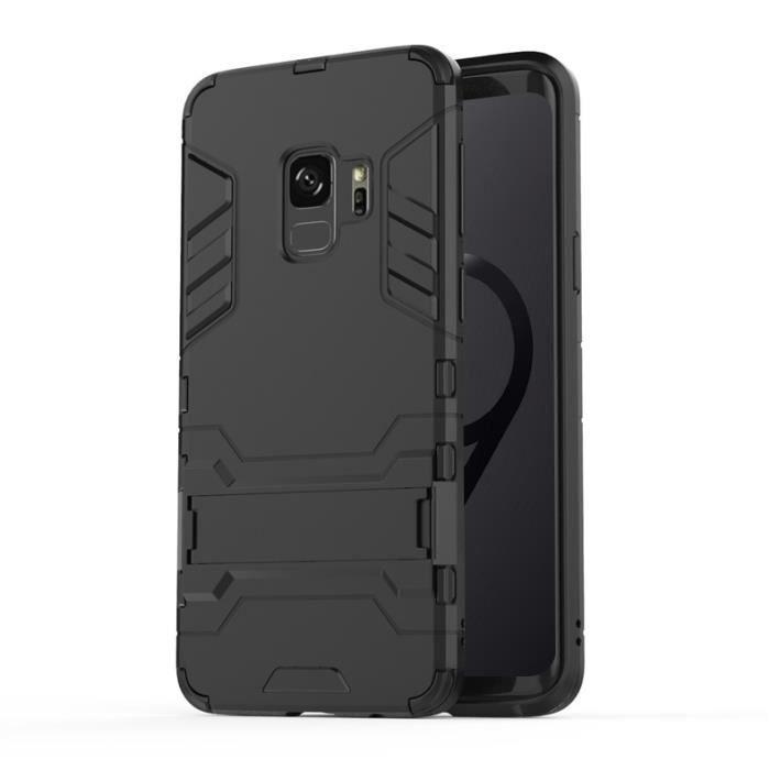 Coque anti choc Samsung Galaxy S9-Avec support-Pro