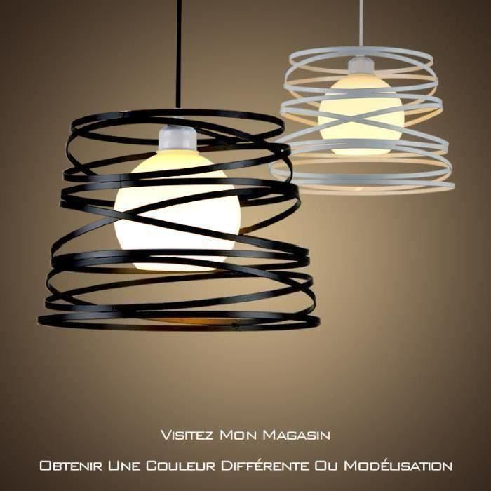 Nordic Fer Personnalite Créative Lustre Salon Moderne Lampshade