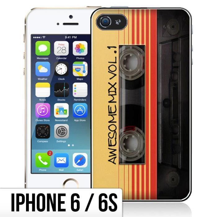 coque iphone 6 6s cassette vintage