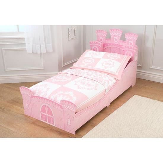 lit pour petite fille en forme chateau princesse achat vente lit b b 2009961510861 cdiscount. Black Bedroom Furniture Sets. Home Design Ideas