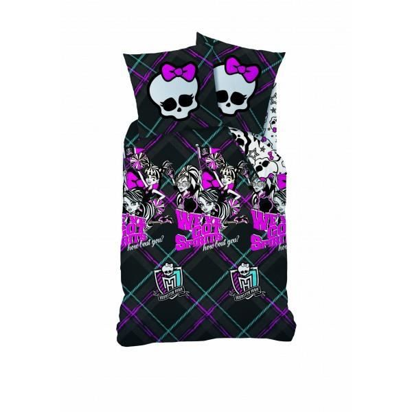 Monster high college spirits achat vente parure de couette cdiscount - Couette monster high ...