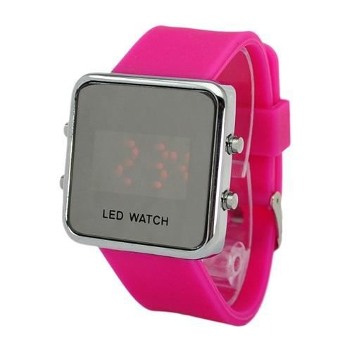 Montre led homme montre sur enperdresonlapin for Miroir noir watch online