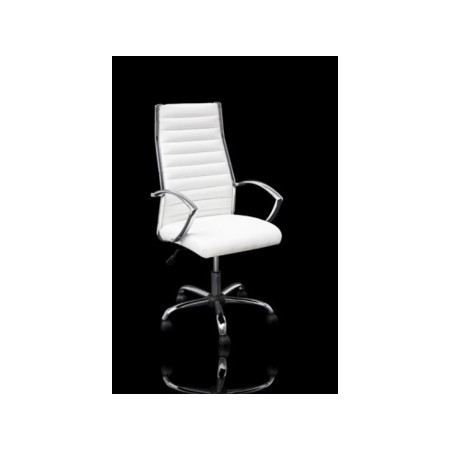 fauteuil de bureau massari blanc achat vente chaise de. Black Bedroom Furniture Sets. Home Design Ideas