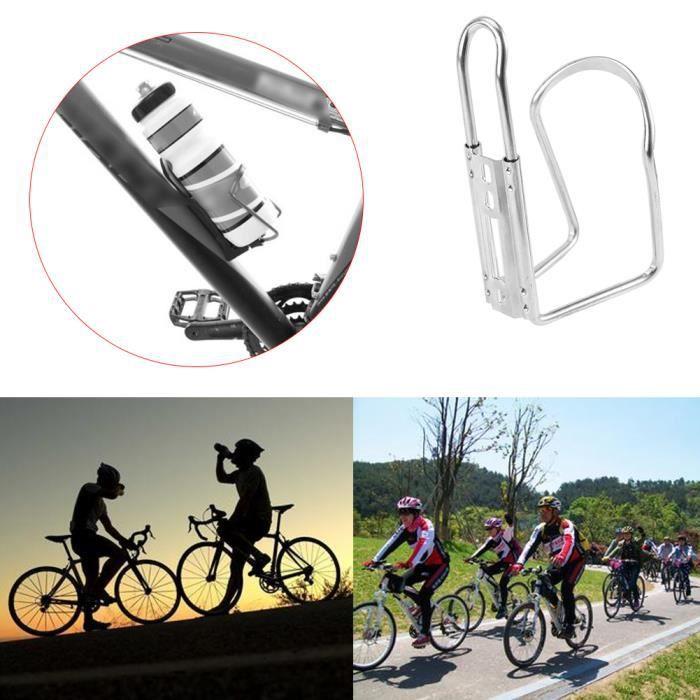 1 L sports de vélo en acier inoxydable large bouche Cyclisme Bouteille d/'eau Escalade Gym