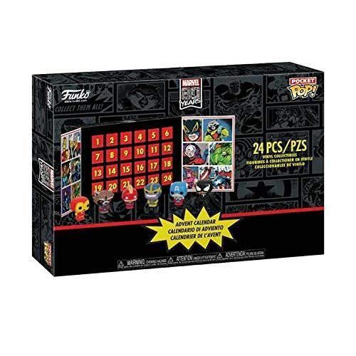FIGURINE - PERSONNAGE Marvel Funko Pocket Pop Advent Calendar with 24 Po