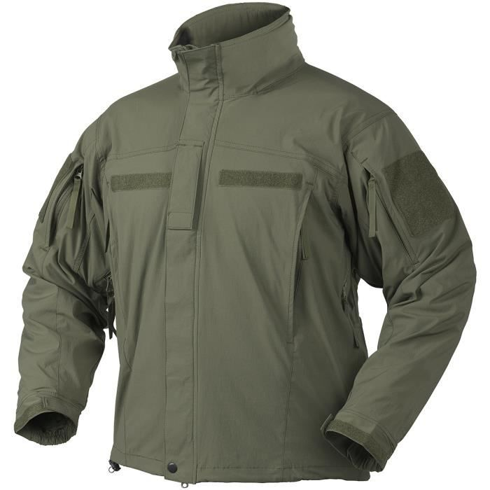 official photos 7321e 5ba4d II Hommes Soft Shell Veste Olive Vert