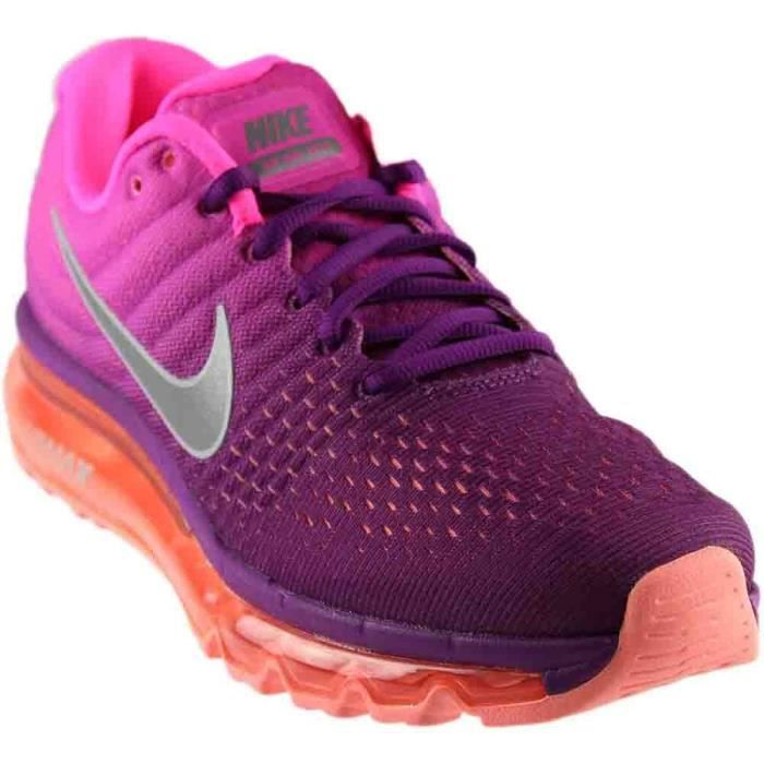 wholesale dealer 1cc27 52ccf BASKET Nike Air Max 2017 Courir Sneaker Femmes ADOCM Tail