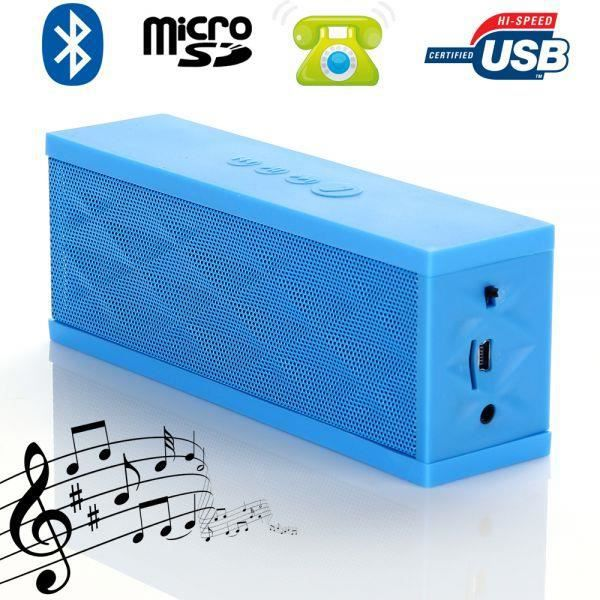mini enceinte bluetooth portable stereo smartphone. Black Bedroom Furniture Sets. Home Design Ideas