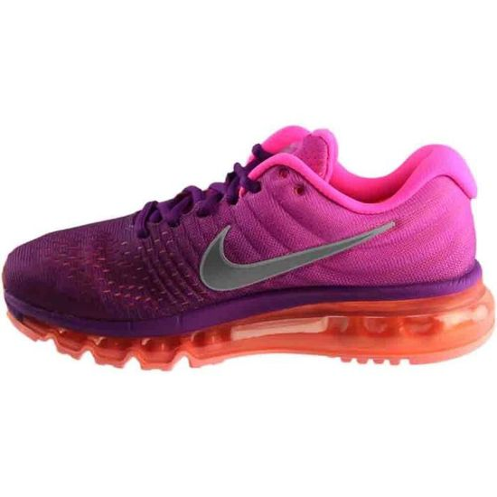 release date: cheap for sale shop best sellers Nike Air Max 2017 Courir Sneaker Femmes ADOCM Taille-37 Rose ...