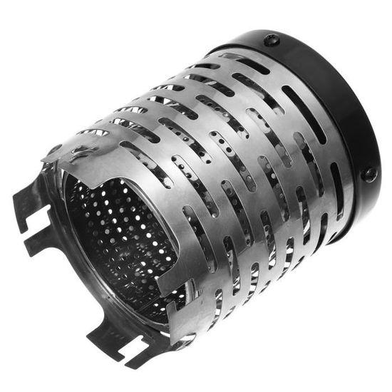 BRS R/échauffeur de camping de BRS fourneau ext/érieur de chauffage de rayon infrarouge r/échauffeur de fourneau de double br/ûleur r/échauffeur de gaz