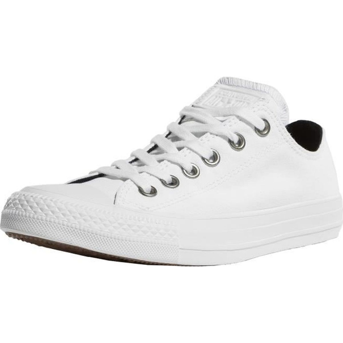 664821ae66110 Converse Femme Chaussures   Baskets Chuck Taylor All Star Ox Blanc ...