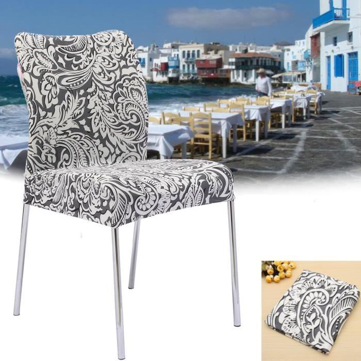 elastique couverture couvre housse de chaise d coration h tel restaurant salon type 3 achat. Black Bedroom Furniture Sets. Home Design Ideas