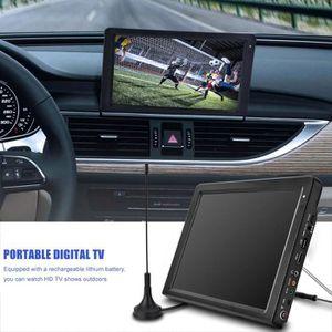Téléviseur pour véhicule TV digital 12 pouces télévision numérique télévisi
