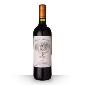VIN ROUGE Château Moncassin Tradition 2016 AOC Buzet - 75cl