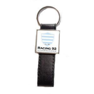 PORTE-CLÉS Porte-clés acier/simili cuir Rugby Racing 92
