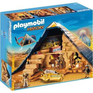 UNIVERS MINIATURE PLAYMOBIL 5386 Pyramide du Pharaon