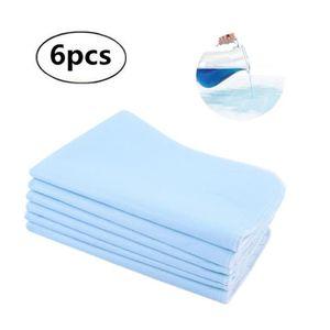 SERVIETTE HYGIÉNIQUE 6pcs Coussin serviettes hygiéniques Lavable Réutil