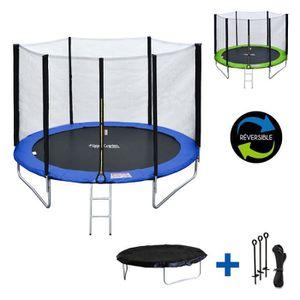 Yours Bath B/âche de Protection Trampoline Contre Intemp/éries,Housse de Trampoline R/ésistant aux Rayons UV et Anti-d/échirure,Couverture de Trampoline pour Trampoline de Jardin Exterieur