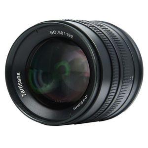 OBJECTIF pour SONY pour Fuji pour Canon pour M43 pour Leica