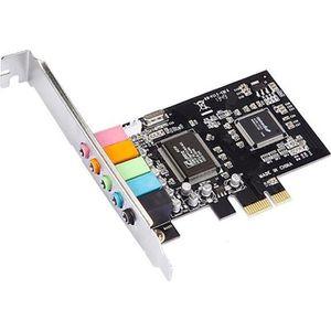 CARTE SON INTERNE MicroConnect Carte son 24 bits 192 kHz 5.1 PCIe CM