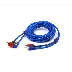 CÂBLE AUDIO VIDÉO Longueur 14.7 ft double blindage câble interconnex