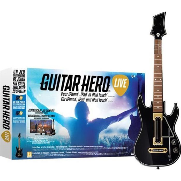 Guitar Hero Live Jeu iPhone / iPad / iPod Touch