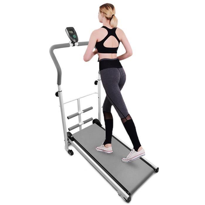 GRIS!!! MIXMEST Tapis de Course fitness en intérieur Equipement fitness