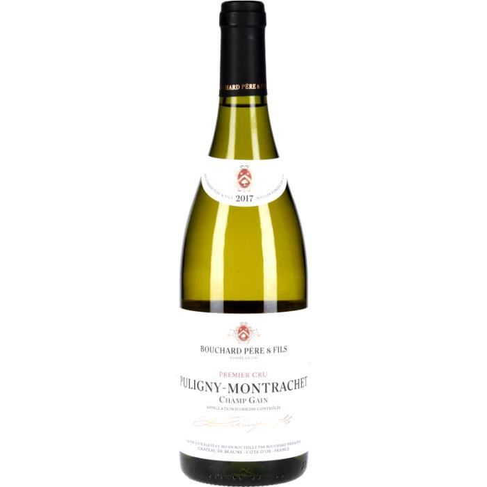 Vin Blanc - Puligny-Montrachet 1er Cru Champ-Gain 2017 - Bouteille 75cl
