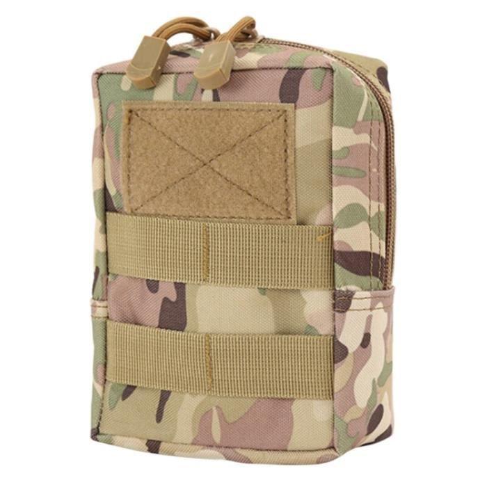 CP -Camouflage Tactique militaire Ceinture Pochette Sac Sacs de Téléphone Molle Pochette Ceinture Camp Poche Taille Sac Banane Coque