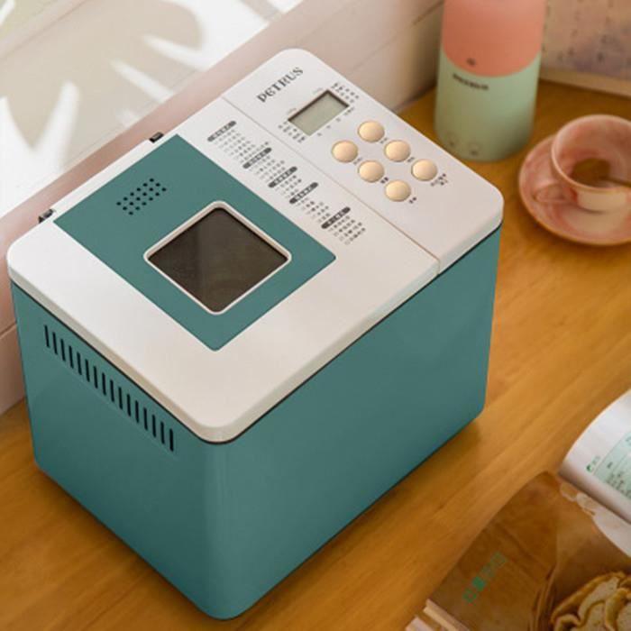 Machine à pain automatique domestique 220V, petit mélangeur de pâte multifonction intelligent pour petit déjeuner - A