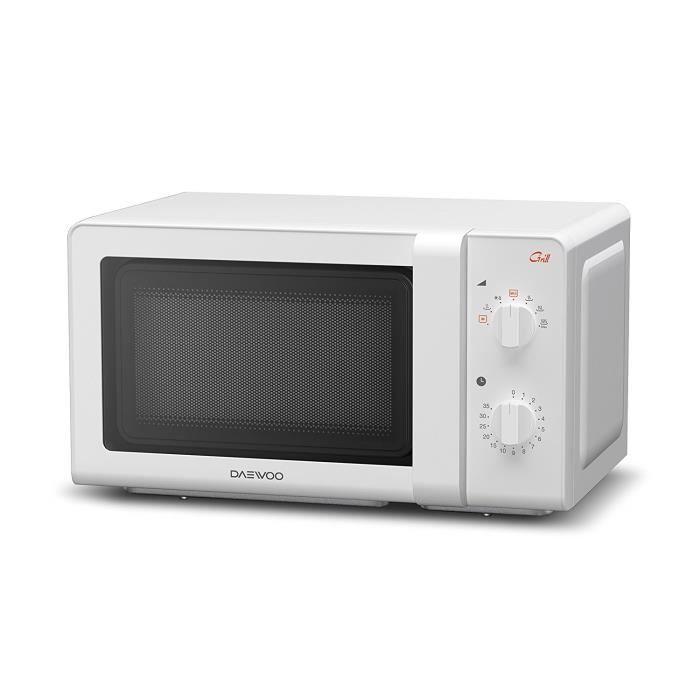 Daewoo kog-6 F27 - Four micro-ondes, 20 litres, avec grill, Couleur Blanc: Cuisine & Maison