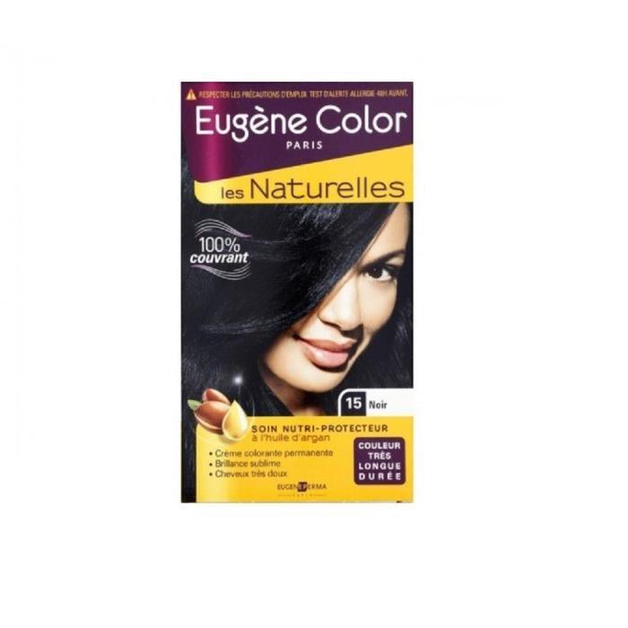 EUGENE COLOR Crème Colorante permanente 15 Noir