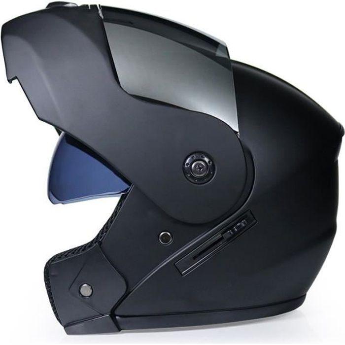 Casque modulable de Marque de moto double lentilles casque de sécurité pour un usage urbain et Racing