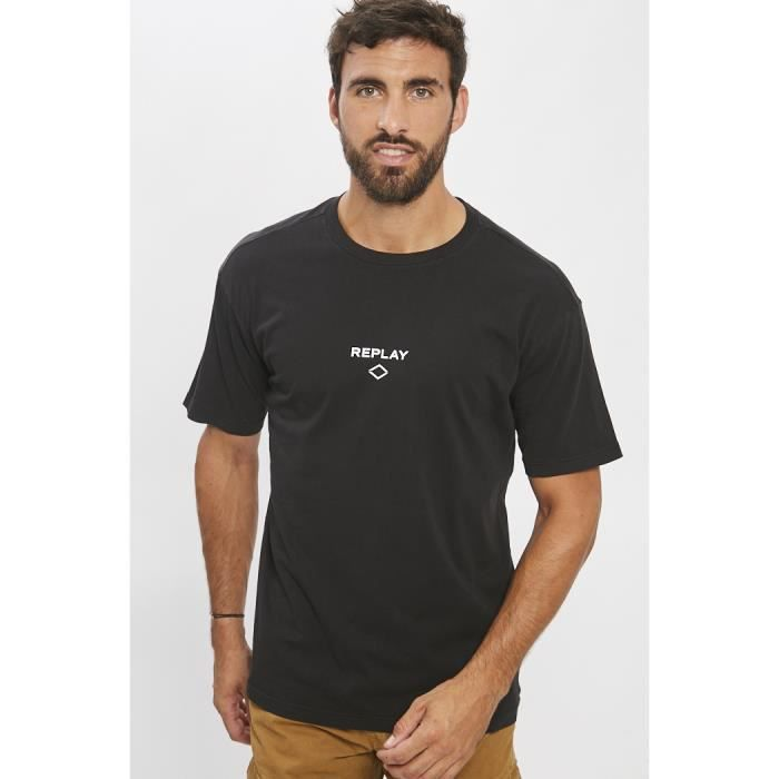 Replay T-shirt noir
