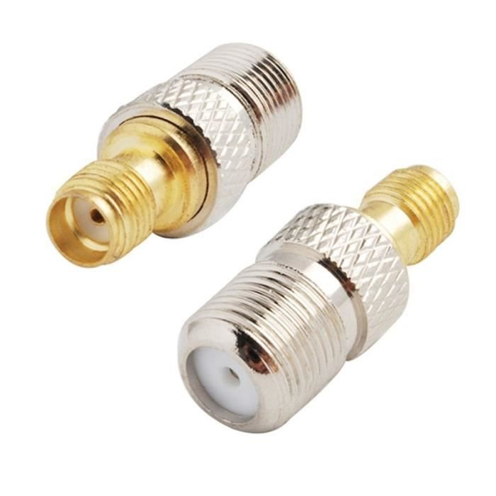 Connecteur Antenne Wifi SMA femelle F adaptateur