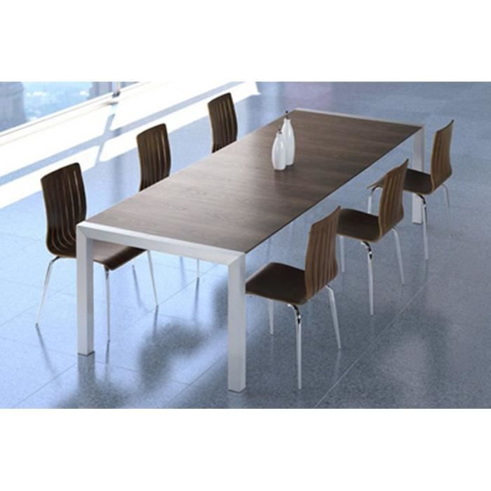 Table salle manger extensible 12 personnes for Table extensible salle a manger