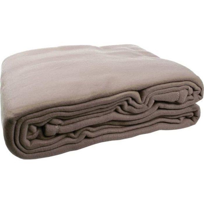 argent Luxe double couverture polaire teddy bear plaid pour canapé et lit 150x200cm