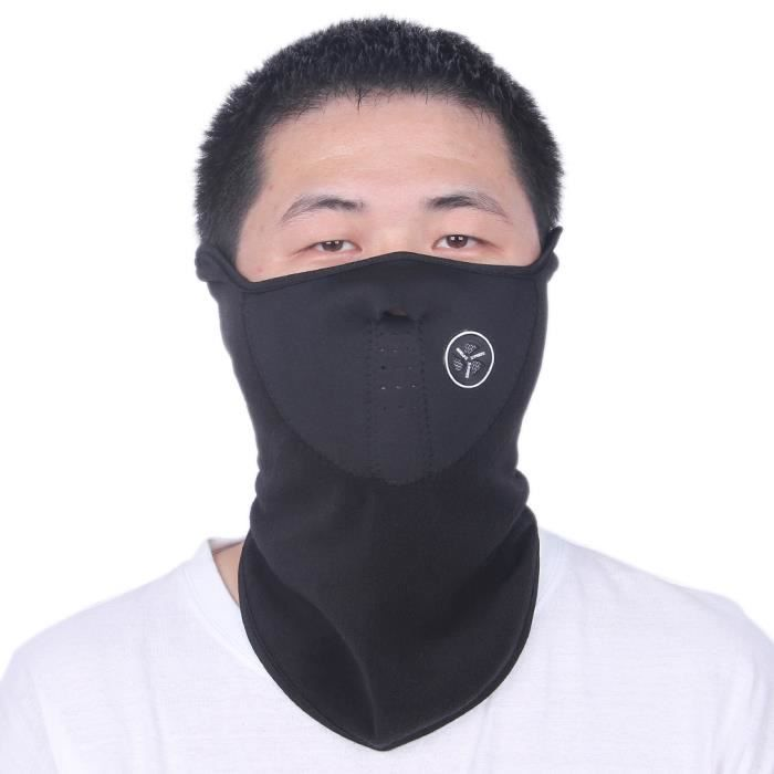cagoule masque de protection facial visage sport ski cyclisme noir prix pas cher cdiscount. Black Bedroom Furniture Sets. Home Design Ideas