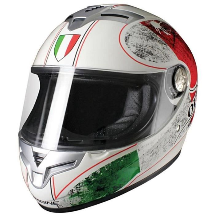 casque moto int gral origine golia italia blanc achat vente casque moto scooter casque. Black Bedroom Furniture Sets. Home Design Ideas