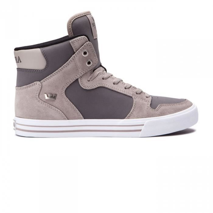 Chaussures Vaider Vintage Khaki/Charcoal h17 - Supra